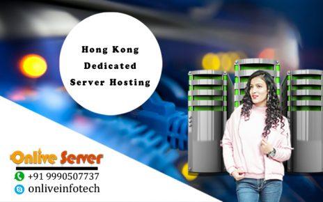 Hong Kong Dedicated Server Hosting plan
